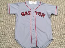 ef9c60448 STEVE BRAUN size 44  21 1993 Boston Red Sox Game Used jersey road gray knit