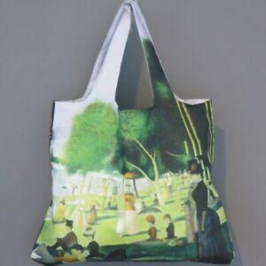 LOQI Tasche GEORGE SEURAT Sunday island grande jatte BAG Museum Falt-Shopper