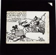 More details for mickey mouse in the delivery boy set of 8 walt disney magic lantern slides