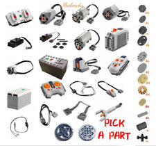 Lego Technic Power Functions Parts M,L,XL,Servo Motor IR Remote Battery Lot Gear