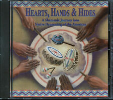 Hearts, Hands & Hides (Native Drumming Of The Americas) (CD, 1997, Talking Taco)