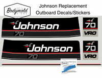 Johnson 70hp Replacement Outboard Decals/stickers