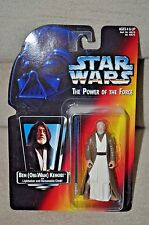 STAR WARS POWER OF THE FORCE POTF BEN OBI-WAN KENOBI LONG LIGHTSABER MOSC AFA