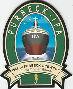 ISLE OF PURBECK BREWERY - PURBECK IPA - PUMP CLIP FRONT