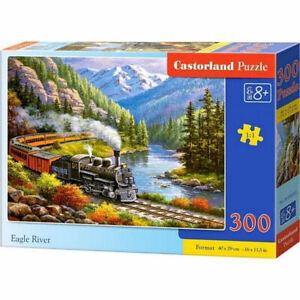 [CSB030293] Eagle River (300 Piece Jigsaw Puzzle) Castorland