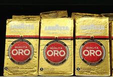 3 pack x Lavazza Qualita Oro Coffee 250g Roasted Ground Coffee 100% Arabica