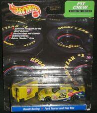 MIP Hot Wheels Roush Racing Pit Crew #26 NASCAR CHEERIOS Ford Taurus & Toll Box