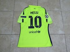 Messi Barcelona Shirt Jersey Match Un Worn Player Issue Uefa Ucl 2014-2015