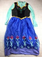 Disney Frozen  Anna Dress Womens XL 14-16 Frozen Caps Princess Costume Cosplay