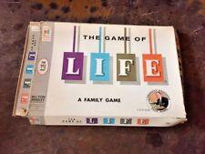 VINTAGE 1960 MILTON BRADLEY THE GAME OF LIFE - ART LINKLETTER