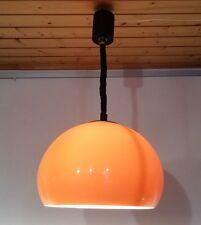 VINTAGE POP ART 70s arancio Lampada Plafoniera Lampada zuglampe luce pendente 70er