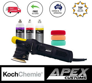 Apex Customs Grasshopper 12mm Mini Dual Action Polisher KochChemie Polishing Kit