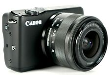 NEW Canon EOS M10 with EF-M 15-45mm Image Stabilization STM Lens Kit, Black