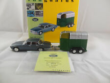 Vanguards VA08602 Jaguar XJ6 Série 4.2 1 & Tracteur cheval BOX SCALE 1:43