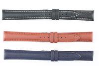 MORELLATO  Uhrenarmband 16mm Weiches Kalbsleder gepostert  Schwarz Braun Blau