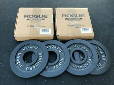 Olympic Weight Plate Set - Rogue Fitness - Cast Iron - (2) Pair of 2.5 lb plates