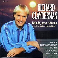 Richard Clayderman – Balada Para Adelina Y Otros Exitos Romanti Vol.2 - CD 1998