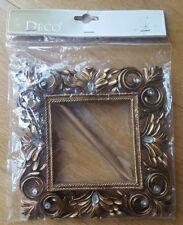 Arts and crafts deco golden frame