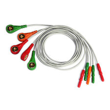 ECG Cable 5 leads ECG/EKG Holter Cable for CONTEC TLC9803 Dyniaic ECG holter