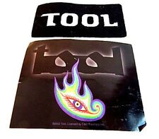 Tool Patch Lateralus Flaming Eyeball Sticker La Alternative Metal Psychedelic