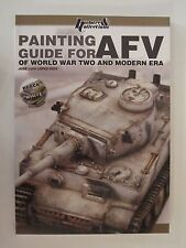 Painting Guide for AFV of World War Two and Modern Era - 84 color pages