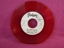 Cal Tjader Quartet, Doxie, Fantasy Records 547x, RED vinyl, PROMO, Latin Jazz