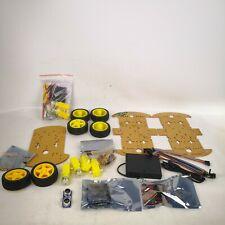2 ArduMotor Motor Shield Robot Car DYI Kits  2WD + 4WD Mobile Car For Arduino