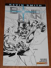 BIONIC MAN #1 DYNAMITE COMICS BLACK AND WHITE VARIANT NM (9.4)