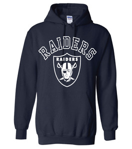Las Vegas Raiders Hoodie With Logo - All Design Colors + Sizes S-5XL