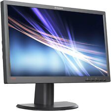 "Lenovo ThinkVision l2321x 23 ""Widescreen LCD FULLHD 1080p@60hz Gaming MONITOR DP"