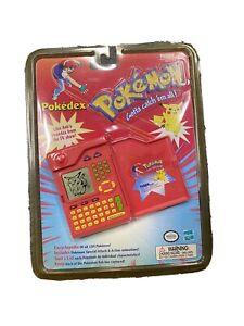 Vintage Pokemon POKEDEX 1999 Tiger Electronics New In Package Hasbro Nostalgia