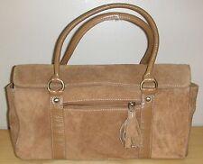 Joshua Taylor Tan Leather Handbag