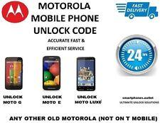 MOTO G, Moto G™ 4G + 4G LTE MotoX Instant  Unlock Codes V8,ROKR E8, XT925,XT610,