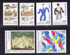FRANCE N° 2866 à 2871 ** Neufs sans charnière, MNH, France-Suède, TB, cote: 12 €