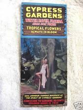 1937 Cypress Gardens, Winter Haven, Florida Brochure