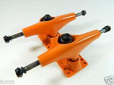 New Turbo 5.0 Pro Skateboard Trucks, 1 Set of 2 pc Orange