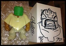 MUTTPOP RAW TEQUILA VERSION VINYL ART FIGURE SIGNED & SKETCHED BOX Super Rare!