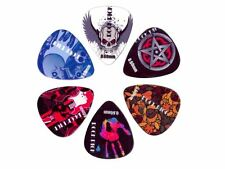 Boston BRP6-060 rock picks set 6 plettri in celluloide 0,60 mm per chitarra