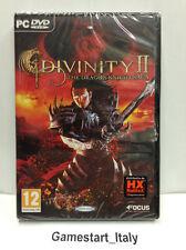 DIVINITY 2 II THE DRAGON KNIGHT SAGA (PC) VIDEOGIOCO NUOVO SIGILLATO NEW GAME