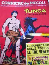 Corriere dei Piccoli 43 1968 I Puffi Jacovitti TUNGA
