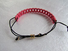 Marc Jacobs Bracelet Solidly Linked Friendship Rose NEW