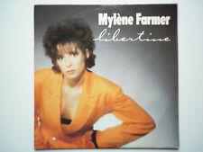 Mylene Farmer 45Tours vinyle Libertine veste orange