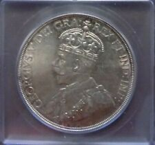 Canadian 1936 Silver Dollar Graded by ICG and Graded AU58