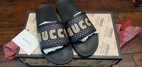 Gucci, Pursuit Gucci Logo Slide Sandal.9UK, 9.5 US New $450