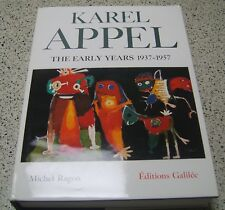 Karel Appel Limited Edition The Early Years 1937-1957 Editions Galilee Ragon
