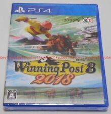 New PS4 Winning Post 8 2018 Japan PLJM-16146 4988615104312