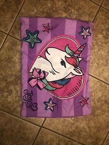 Jojo Siwa Standard Size Pilow Case Unicorn Purple