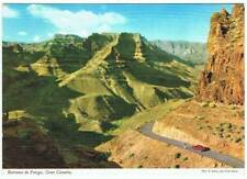 Postal Gran Canaria. Barranco de Fataga. John Hinde Original