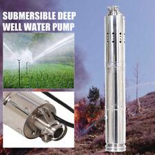 NEU 24V DC Solar Wasser pumpe Tauchpumpe S242T-40 Tiefbrunnenpumpe 2m³/h DHL DE