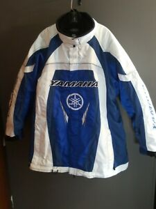Yamaha FXR Womens Team Jacket Blue Size 20 with liner. All Embroidered w/Magnets